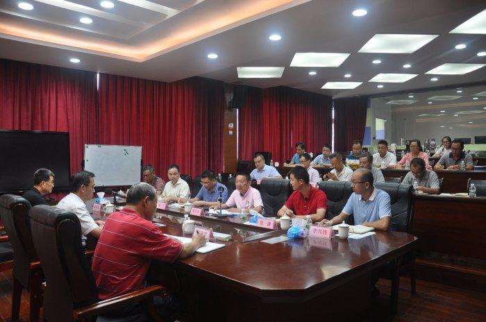 省林业局党组书记、局长陈俊光莅临w88手机网页版登录指导主题教育工作